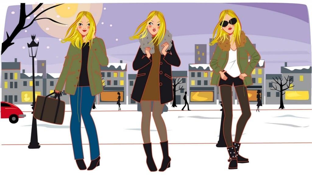 """Illustration mode pour l'émission TV """"Magnifique by Cristina"""""""