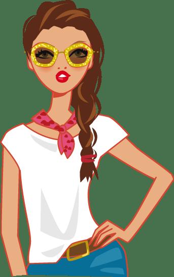 illustration lunettes