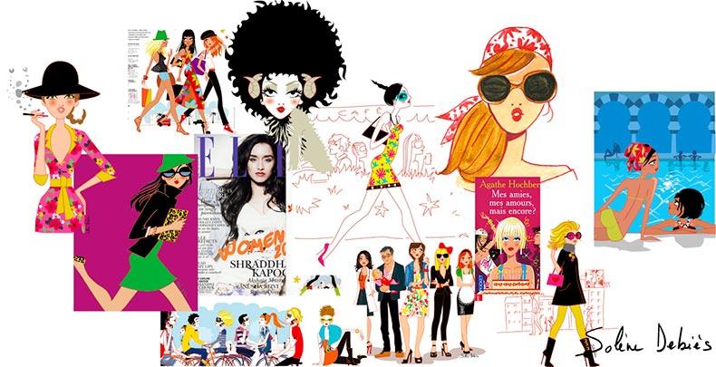 métier dessin designer graphiste paris