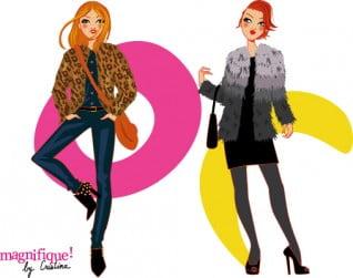 dessin mode femme