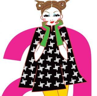 Illustration pour l'horoscope du magazine ELLE India- illustration for the horoscope of the magazine ELLE India