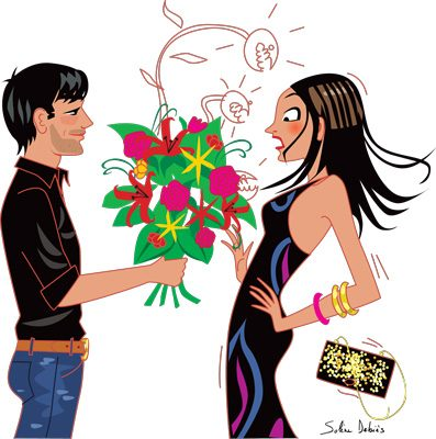 Elle-India-flowers-illustration-magazines