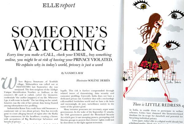 Illustratrice ELLE article société