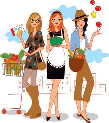 Illustration alimentaire cuisine