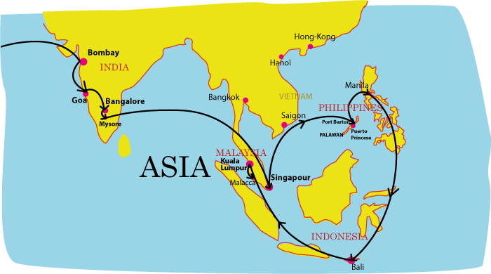 cartevoyage2014Malaisie