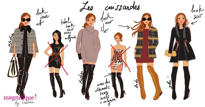 illustration femme mode Magnifique by Cristina,