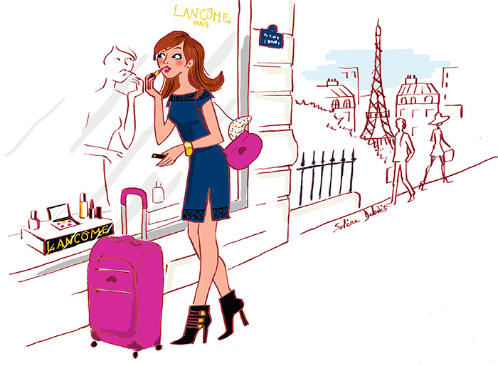Illustrator beauty Lancôme