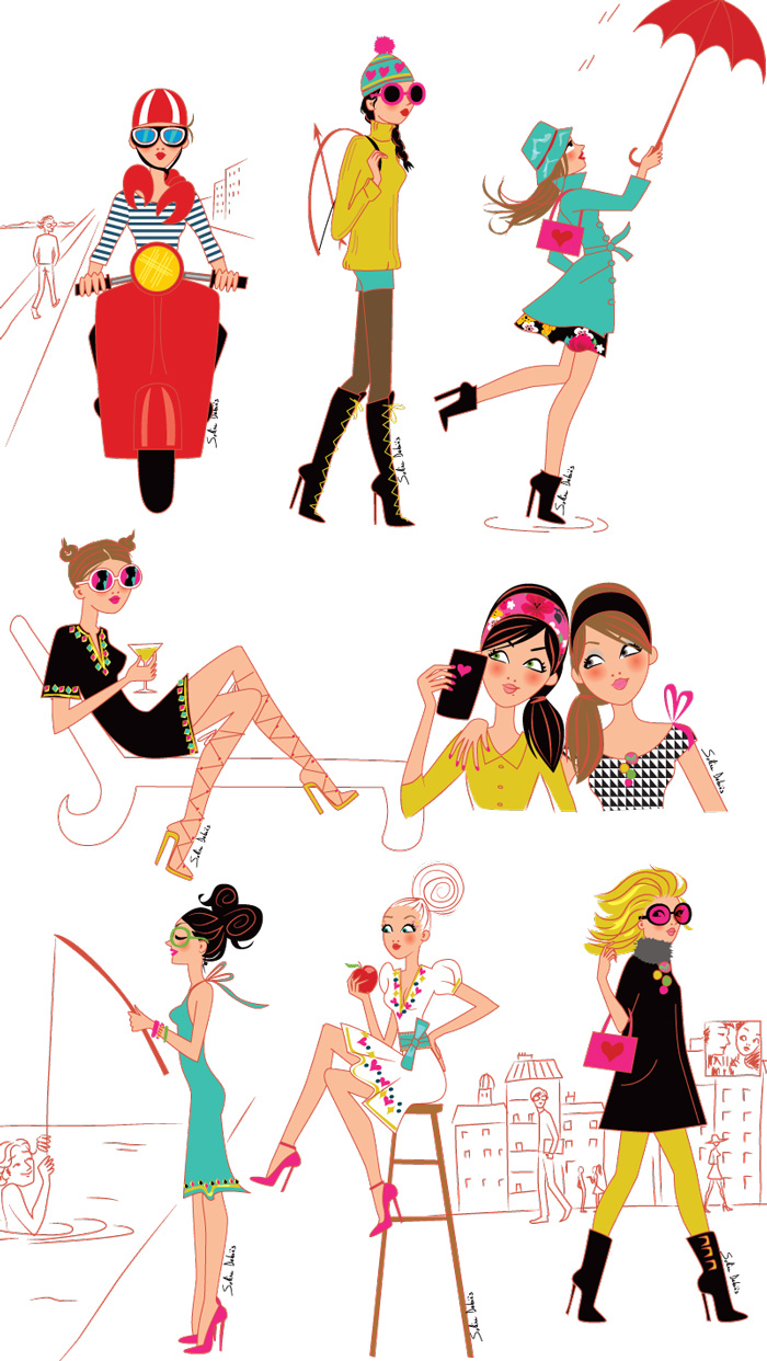 illustrator-magazines-feminines-women
