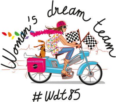 """Illustration pour """"Women's dream team"""""""