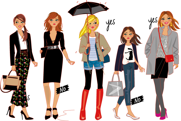 fashion illustrator : illustrations of women