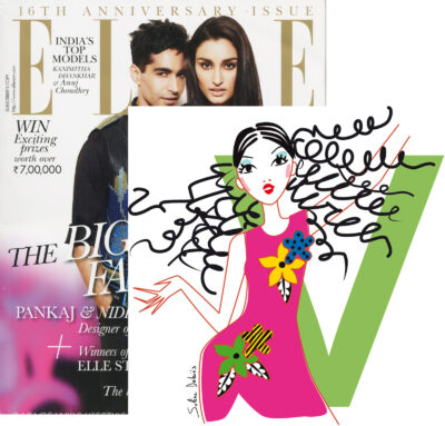 illustration ELLE magazine