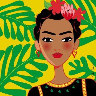 Frida-inspiration-femme