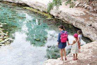Voyage au Mexique de Solène Debiès : Cenote