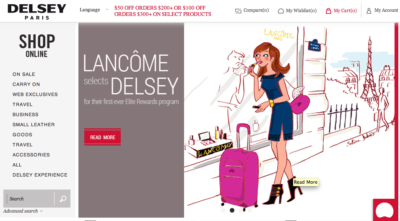 illustration site internet