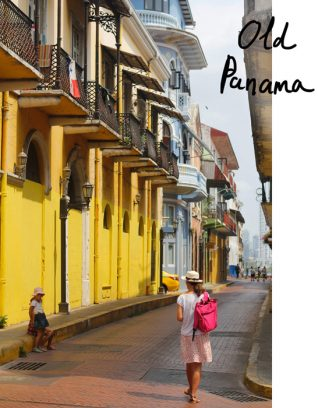 voyage au Panama, Amérique centrale