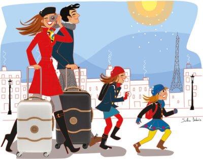 illustrateur lifestyle famille enfants