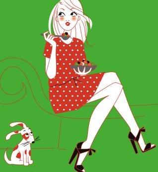 illustration du livre bien-être diététique