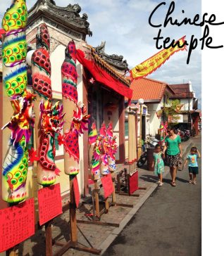 voyage de l'illustratrice en Asie, Malaisie