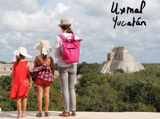 voyage de l'illustratrice en Amérique, Yucatan, Uxmal