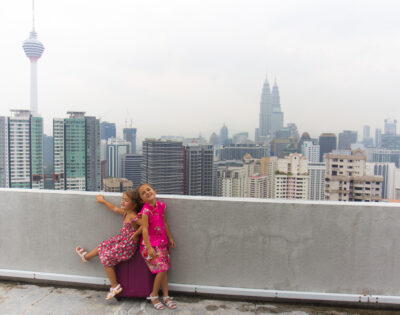 voyage de l'illustratrice en Asie, Kuala Lumpur