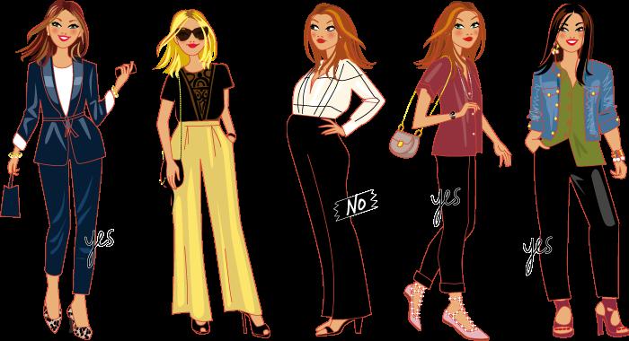 planche de mode - conseils de style