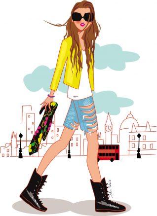 fashion illustrator london