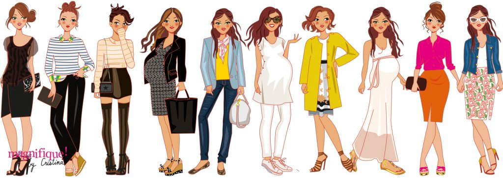 fashion illustrator woman
