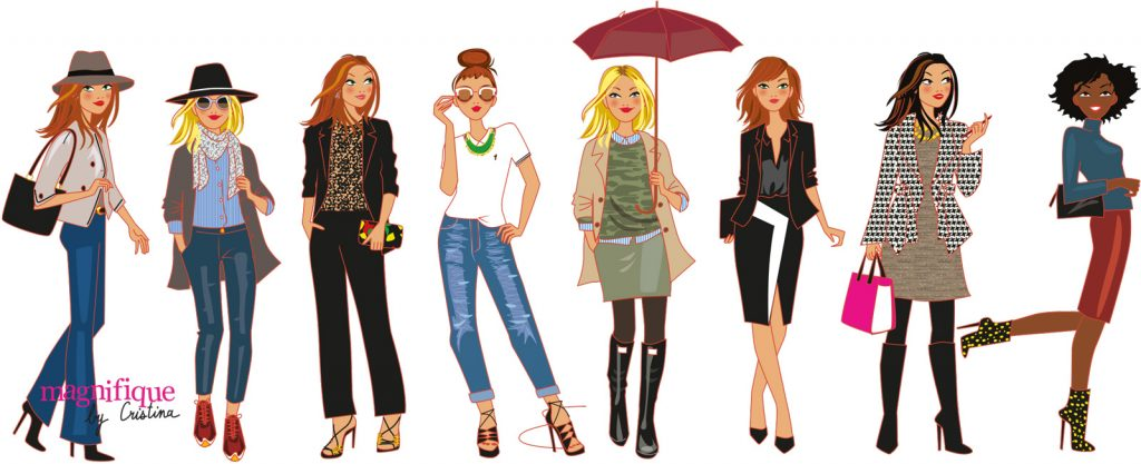 vector fashion illustrator
