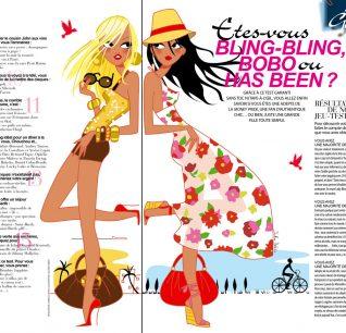 editorial illustrator urban fashion