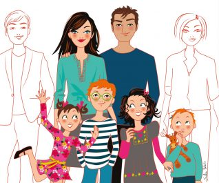 family illustrator