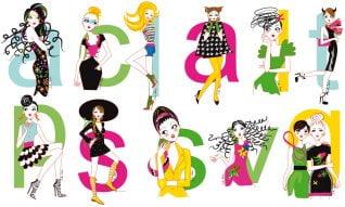 magazine horoscope illustration - Elle