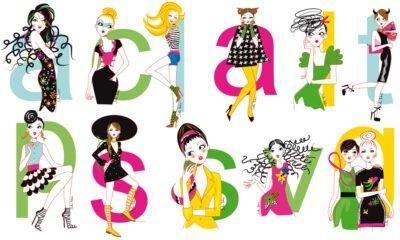 Graphic Illos Horoscope - Elle