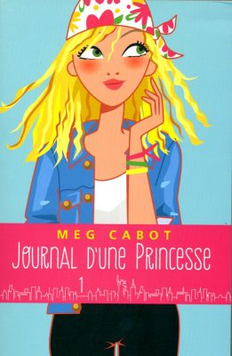 Cover art book Princess diary Meg Cabot