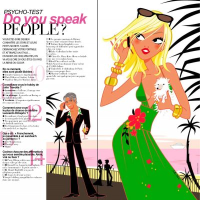 People Gala magazine phone glamour