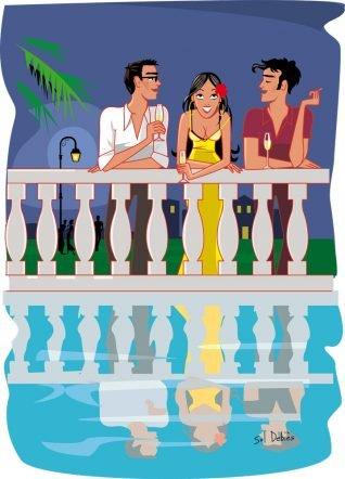 romance illustrator graphic