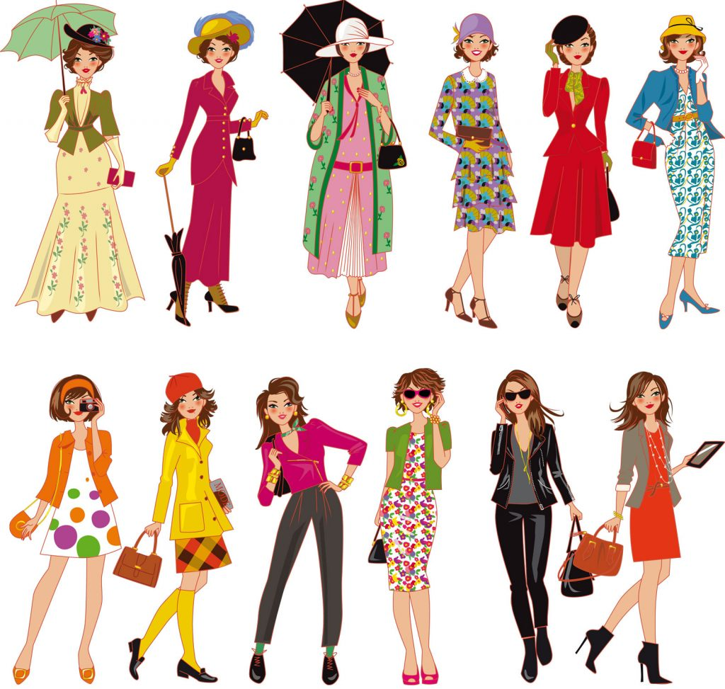 dessin de mode, blogueuse