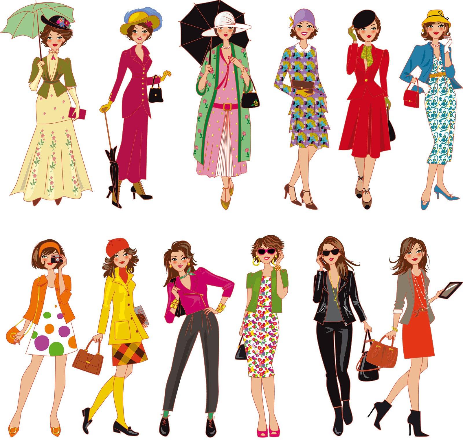 Illustrateur Mode Sol 232 Ne Debi 232 S Des Femmes Et La Mode