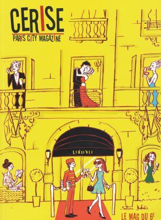 illustration d'un hôtel de luxe pour le magazine parisien Cerise