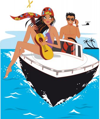 illustratrice-femme-bateau