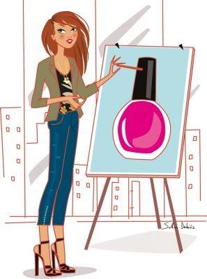 dessin formation cosmétique