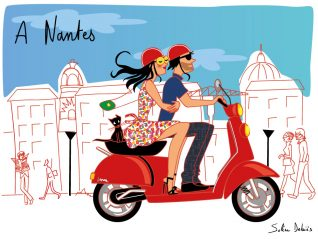 lifestyle illustrator french nantes