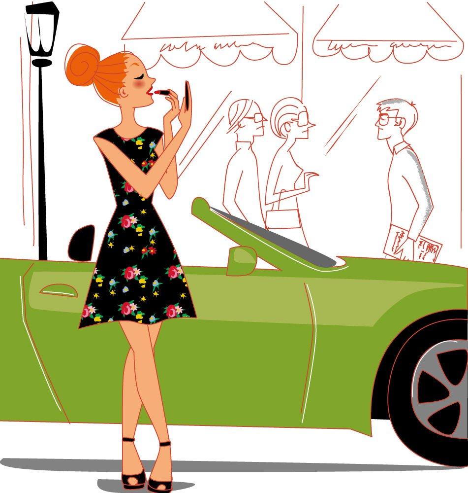 Solene Debies Illustrator Beauty And Women Drawings