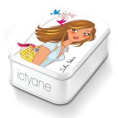 packaging produit cosmétique goodie