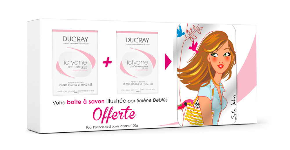 illustration packaging cosmétique