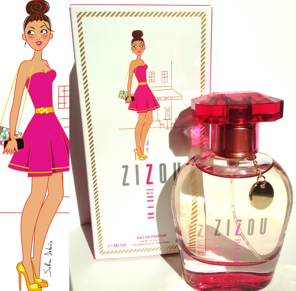 "Illustration for ""zizou perfumes"" US"