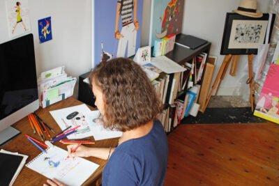 Solene-Debies-drawing-studio