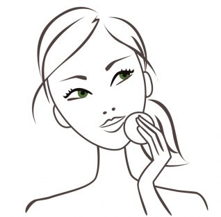 Dessin femme stylisée Garnier l'Oréal