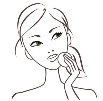 dessin de femme pour Garnier L'Oréal
