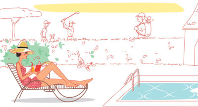 illustrateur-piscine-golf-femme