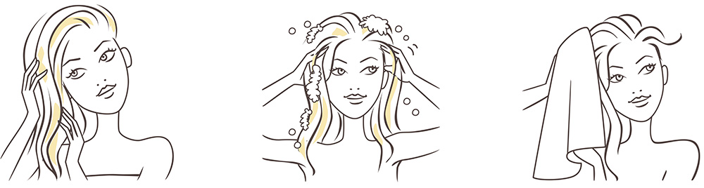 illustration-haircare-woman-hair